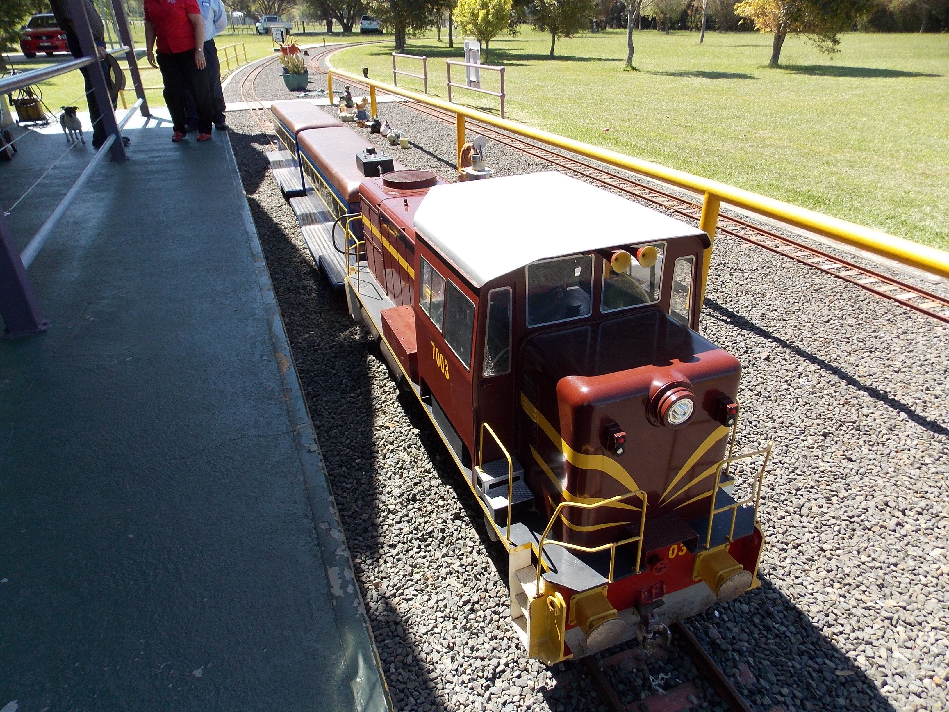 Penwood Miniature Railway - Accommodation Nelson Bay