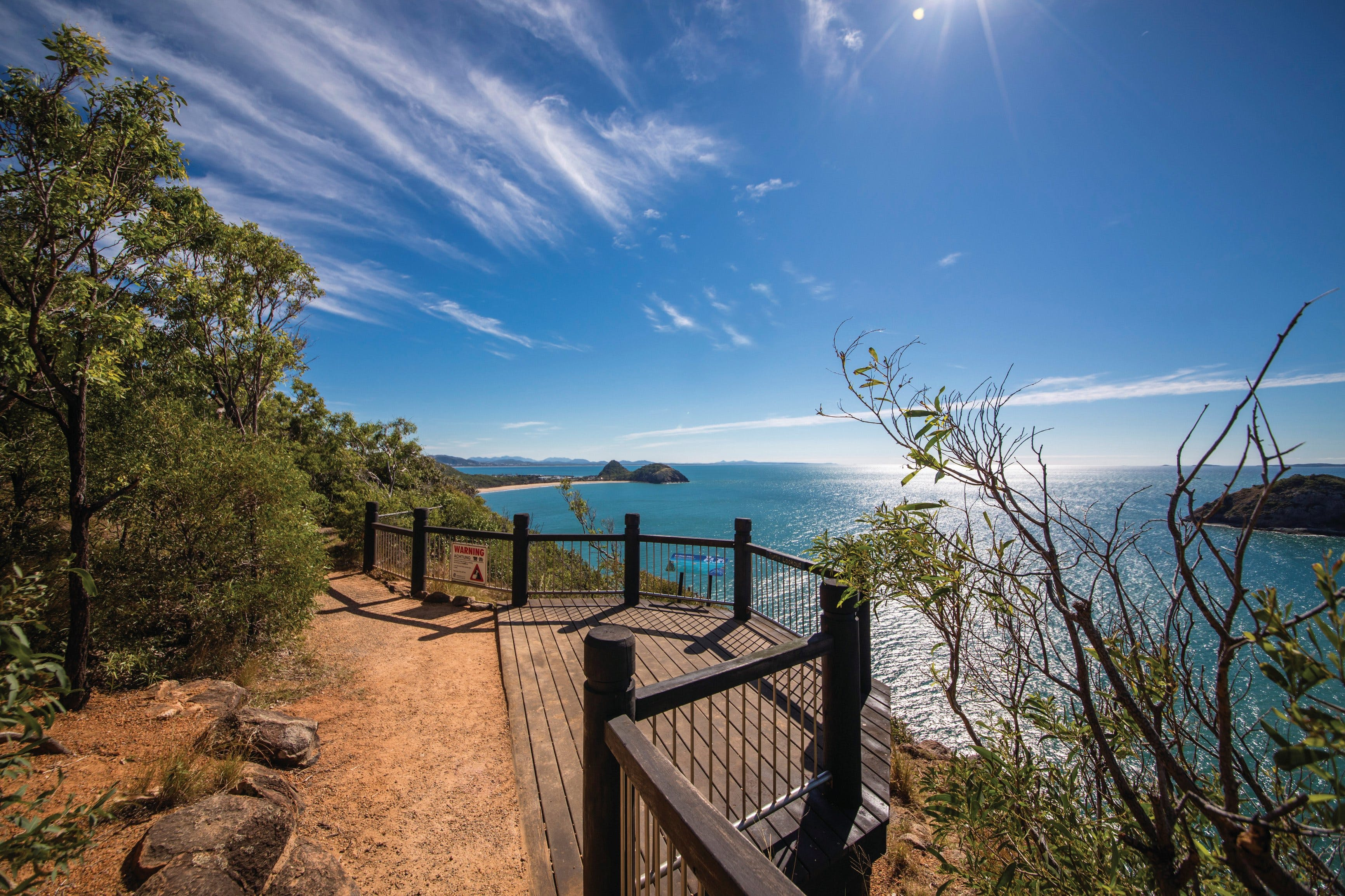 Bluff Point circuit Capricorn Coast National Park - Accommodation Nelson Bay
