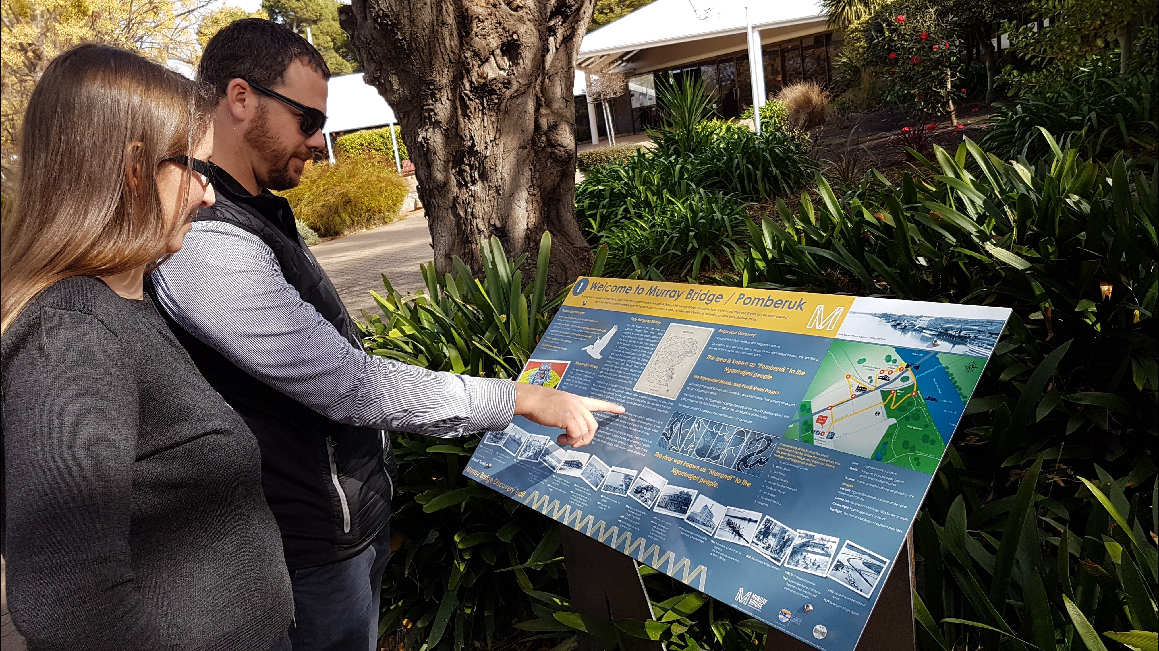 The Murray Bridge Discovery Trail - Accommodation Nelson Bay
