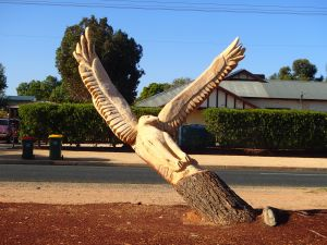 Loxton Tree sculptures - Accommodation Nelson Bay