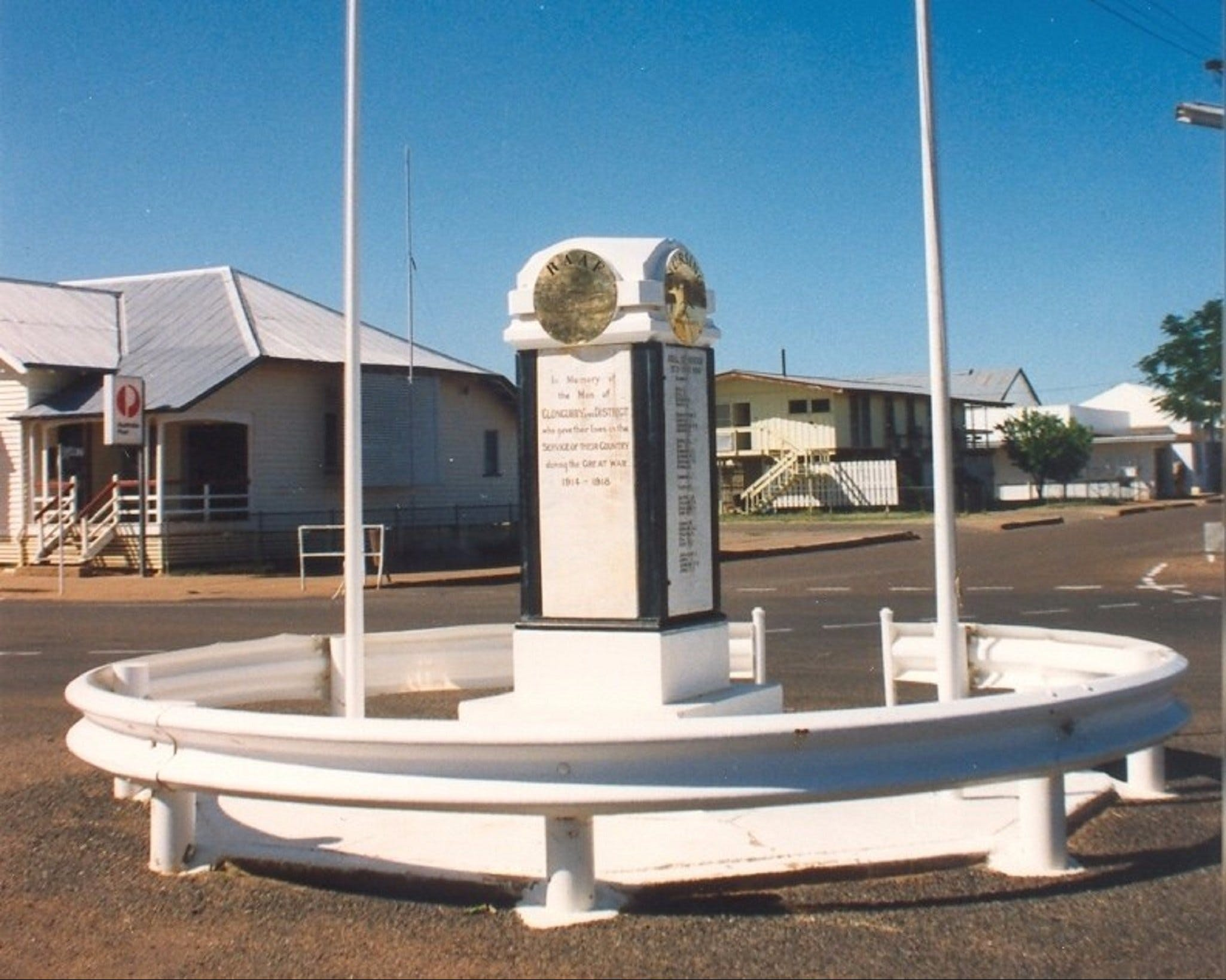 Cloncurry War Memorial - Accommodation Nelson Bay