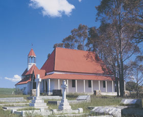 St Werburgh's Chapel - Accommodation Nelson Bay