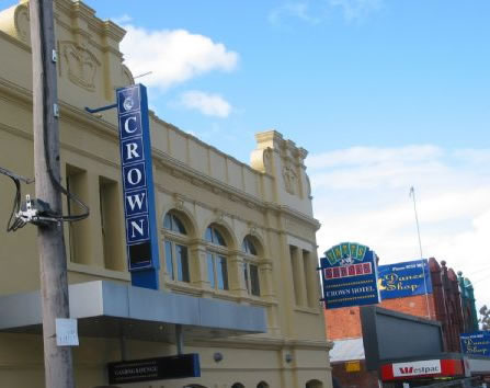 Crown Hotel Lilydale - Accommodation Nelson Bay