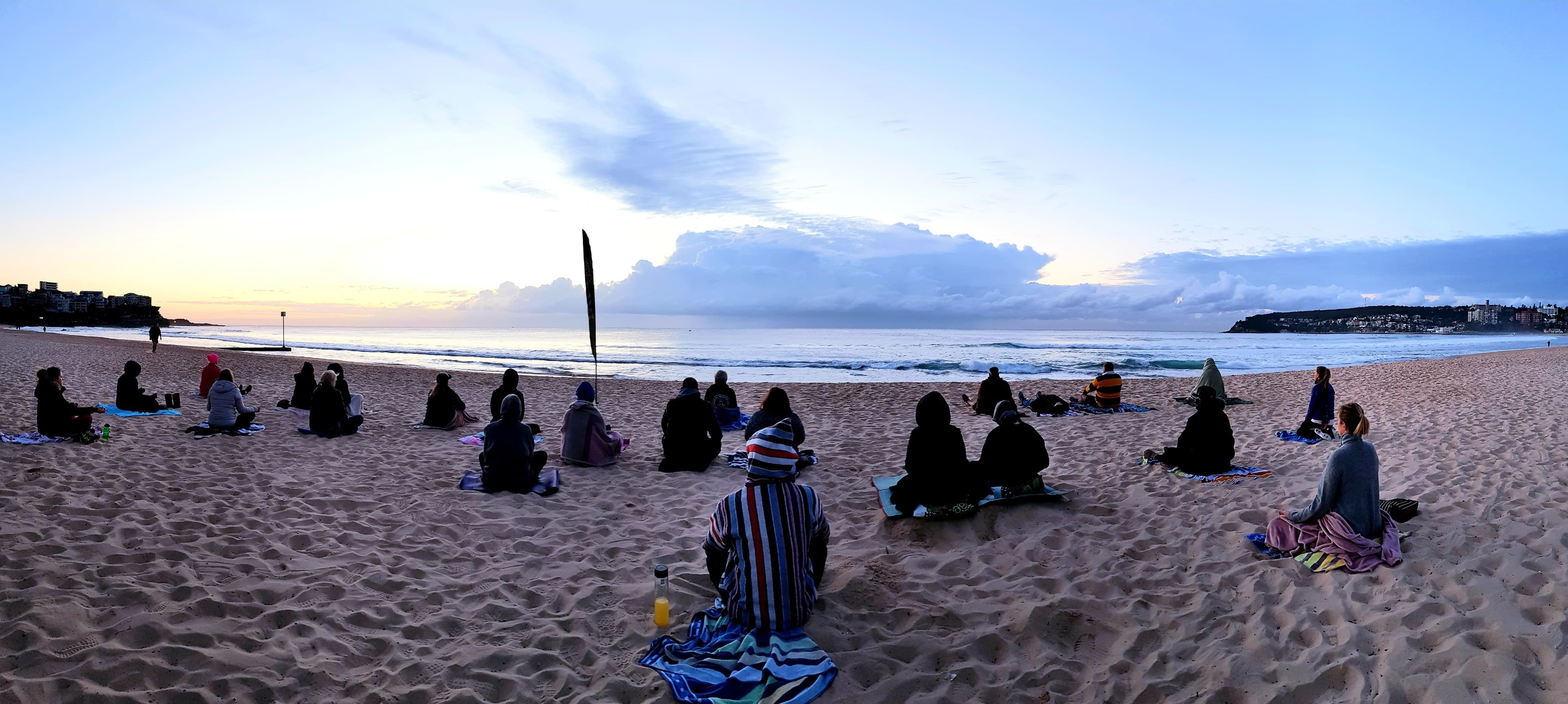 Making Meditation Mainstream Free Beach Meditation Sessions - Avalon Beach - Accommodation Nelson Bay