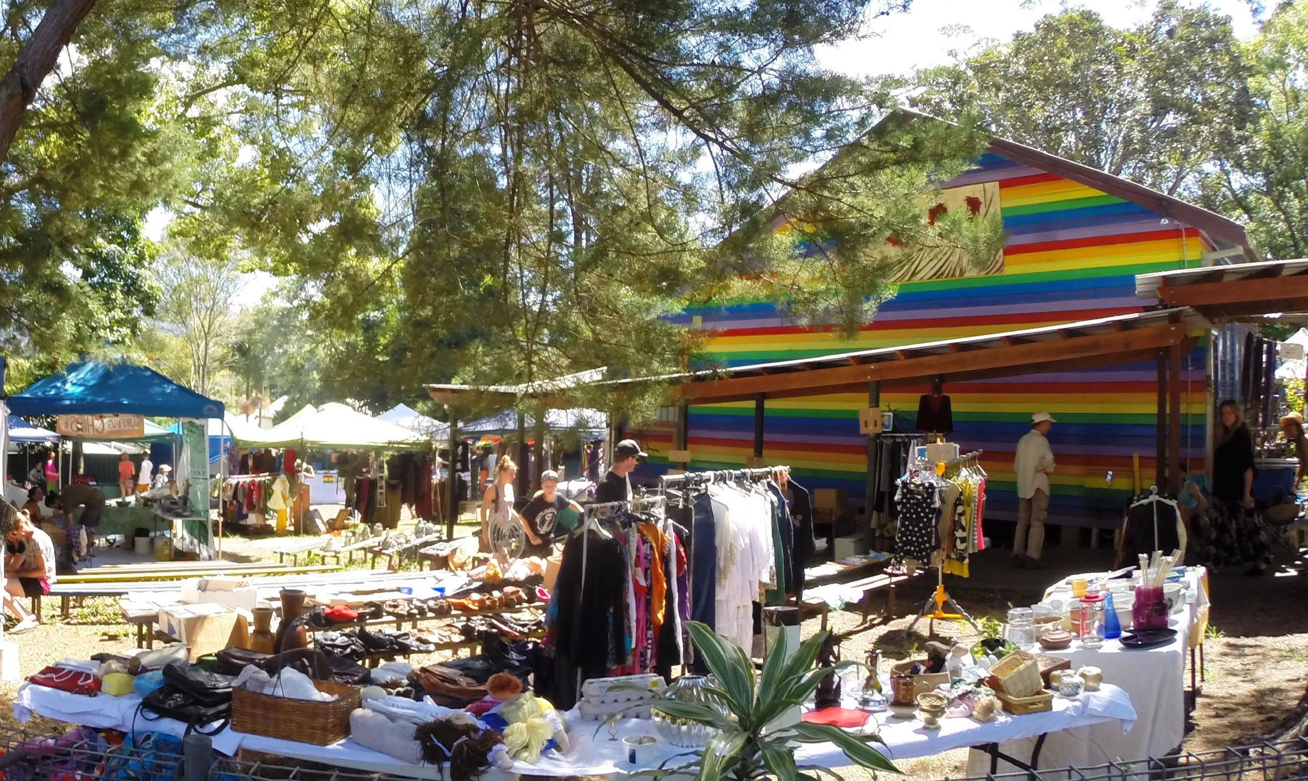 Nimbin Markets - Accommodation Nelson Bay