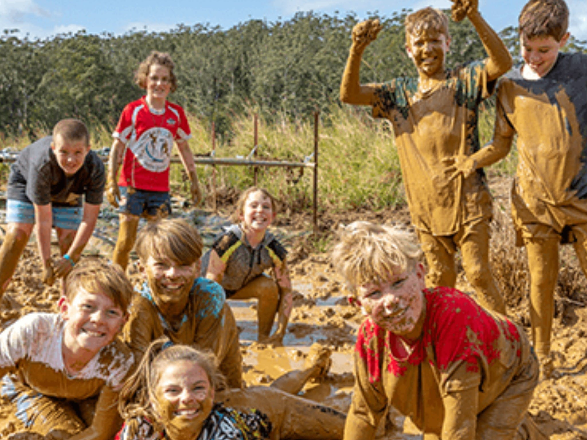 Mini Muddies Obstacle Challenge at Bunnamagoo Estate - Accommodation Nelson Bay