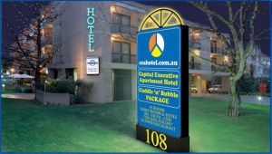 Capital Executive Apartment Hotel - Accommodation Nelson Bay