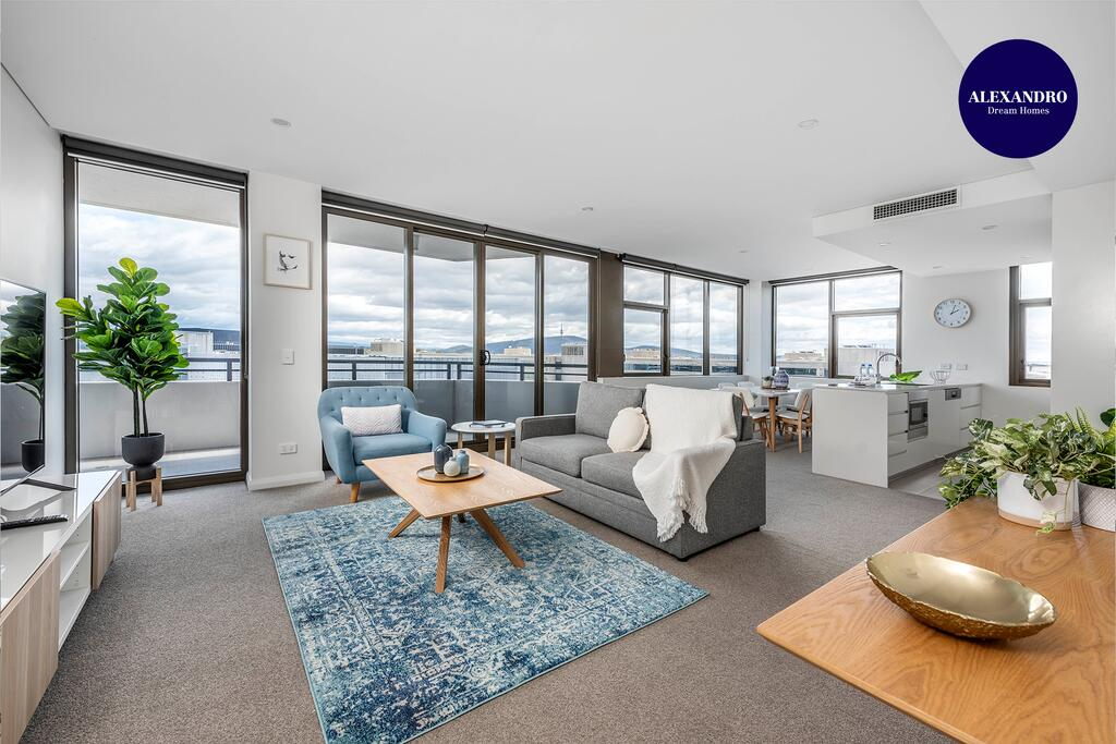 Oversized Luxe 1 Bedder - Amazing Barton - Gym - Accommodation Nelson Bay